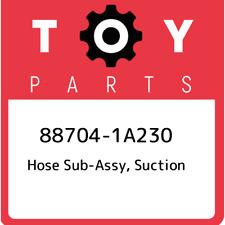 88704-1A230 Toyota Hose sub-assy, suction 887041A230, New Genuine OEM Part