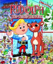Rudolph the Red-Nosed Reindeer (Look and Find) (2010, Hardcover) XMAS Perfect!