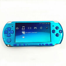 Refurbished Light Blue Sony PSP-3000 Handheld System Game Console PSP 3000