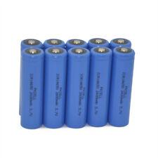 10 18650 batería de litio Li-ion recargable 2600mAh 3.7V Baterías célula PKCELL