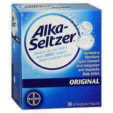 Alka-Seltzer Effervescent Tablets Original 36 Tabs