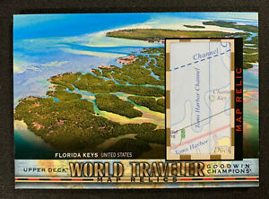 2018 Goodwin Champions Florida Keys United States World Traveler Map Relics