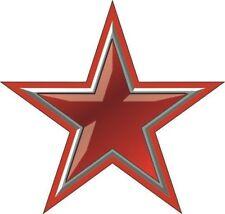 Aufkleber Roter Stern Autoaufkleber Sticker Konturschnitt