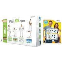 Wii Fit Plus With Balance Board And Biggest Loser Game Bundle For Wii And 7Z