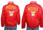 Vtg 60s Red Mizpah Shriner Windbreaker Jackets Mens & Womens Jackets