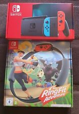 Nintendo Switch Console With Improved Battery Bundled with Ring fit adventures