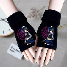 BLACK ROCK SHOOTER Logo Cosplay Warm Winter Gloves