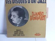 Les disques d or du jazz DJANGO REINHARDT Nuages ... EPL 8361