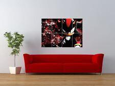 Shadow The Hedgehog Sonic Video Juego Gigante impresión arte cartel del panel nor0047