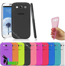 CUSTODIA CASE COVER PER SAMSUNG GALAXY S3 i9300 ULTRA THIN SOTTILE + PELLICOLA