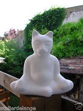 2028 Chat boudha superbe petite statue 19cms