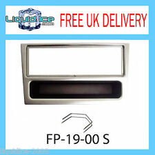 FP-19-00 S Opel Corsa Meriva Silver Fascia Facia Adaptor Panel Trim + PC5-110