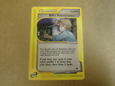 POKEMON CARD / E EXPEDITION 2002. TRAINER: BILL'S MAINTENANCE N° 137/165