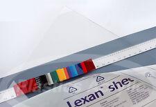 Clear Polycarbonate Lexan Sheet .030