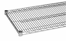 """Commercial Wire Shelving  Set Of 2 Shelves (18"""" X 48"""") Tcmsv1848-1"""