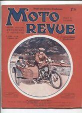 Moto Revue N°236 ; 17 septembre 1927 : la compression d'un moteur
