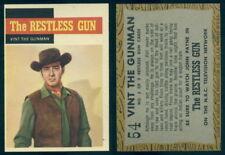 (54648) 1958 Topps TV Westerns 54 The Restless Gun Vint The Gunman-NM