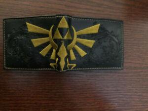 Wallet: Legend of Zelda Black & Gold