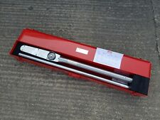 BAHCO 7454-1400 Double Gauge Torque Wrench 0-1400 NM. In Carry Box used once!