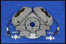 2005-2014 Ford Mustang GT 4 Piston 14 Inch Brembo Style Caliper Rotors Pads