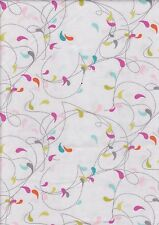 Flow by Zen Chic, Fog 159113 - Half Metre 100% cotton fabric - 50 x 110 cms