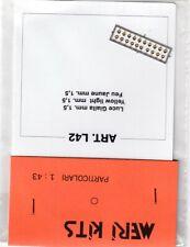 Meri kits 1/43 - L42 - 20 feux jaunes 1,5mmm