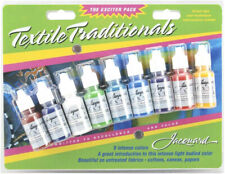 Fabric/Textile Paint JACQUARD EXCITER Blister Pack of 9
