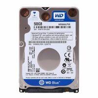 HARD DISK 2,5 SATA HD Disco 100% TESTATO 500GB Pc Portatile VARIE MARCHE