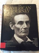 The American Journey by Carl Abbott, Peter H. Argersinger, David R....