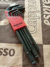 Bondhus USA1.5mm - 10mmHexEndLong Arm 9pc L-Wrench Set Allen Key 2