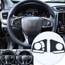 For Honda Civic 10th 2016 2017 2018 Carbon Fiber Type Steering Wheel Covers hot