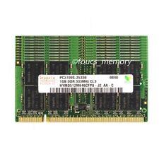 Hynix 10PCS 1GB DDR PC2700 333MHz 200pin Sodimm Laptop Memory Ram Low Density
