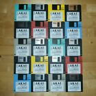 Akai MPC 2000 x20 Diskettes Drum Kit Sounds Samples Floppies Floppy