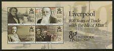 Isle of Man  2007   Scott # 1214   Mint Never Hinged Souvenir Sheet