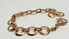 & Crystal Bracelet A7) Fossil Copper