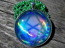 x10 Yugioh Card Glass Pendant Necklace Custom Cosplay Seal of Orichalcos dartz