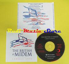 CD THE BRITISH AT MIDEM compilation 1994 CARROLL DYLANS SLEEP  (C1)no lp mc dvd