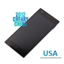 For ZTE Warp Elite N9518 LCD Display Touch Screen Replacement Digitizer Frame