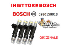 02801588818 INIETTORE BOSCH ORIGINALE FIAT PUNTO EVO 1.4 NATURAL POWER