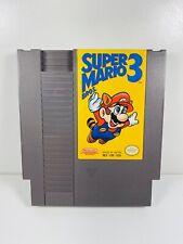 Super Mario Bros. 3 -- Nintendo NES RARE First Print Left Bros Game Only