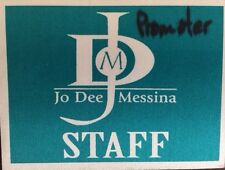 Jo Dee Messina 2004 Tour -satin backstage pass Staff