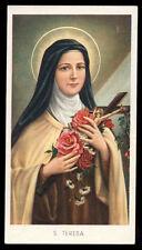santino-holy card EGIM n.14 S.TERESA DEL BAMBINO GESU'