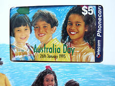 MINT Telecom PHONECARD Australia Day 1995