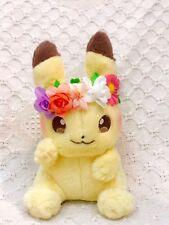 Pokemon plush Pikachu & Eievui's Easter Pikachu Toy Gift