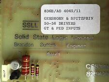 SSL Solid State Logic Pipe Organ Diode Matrix Relay circa 1985 missing pin board