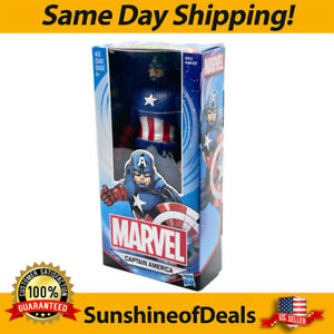 """Marvel Captain America 6"""" Action Figure Includes Shield Ages 4 & Up Hasbro NEW!!"""