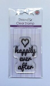 Wedding 'Happily Ever After' Clear Stamp - Dovecraft