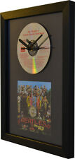 The Beatles - Sgt Peppers - CD Album - CD and Art Clock - Special Gift Idea