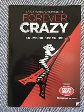 Crazy Horse Paris - Forever Crazy- Souvenir Brochure - Burlesque Show
