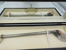 Lamucha Kimjeongju Carved Coral Flower Scepter Crystal Pageant Wand